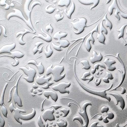 LL FLORAL White/Silver matt