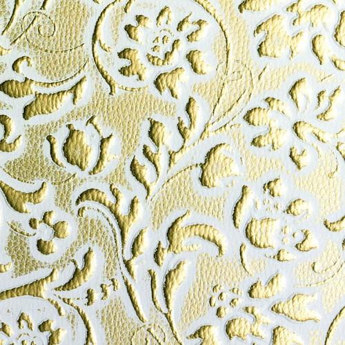 LL FLORAL White/Gold matt