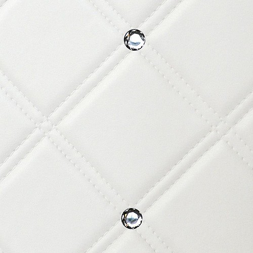 CR CRISTAL ROMBO 85 Bianco matt/Silver